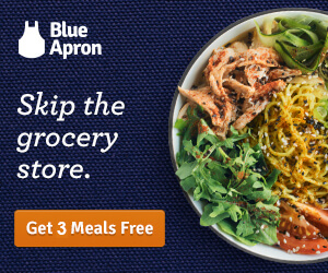 Blue apron meal delivery reviews pricing boxedmealz the week prior to delivery you can select your recipes from blue aprons weekly menu which accommodates some dietary preferences forumfinder Images