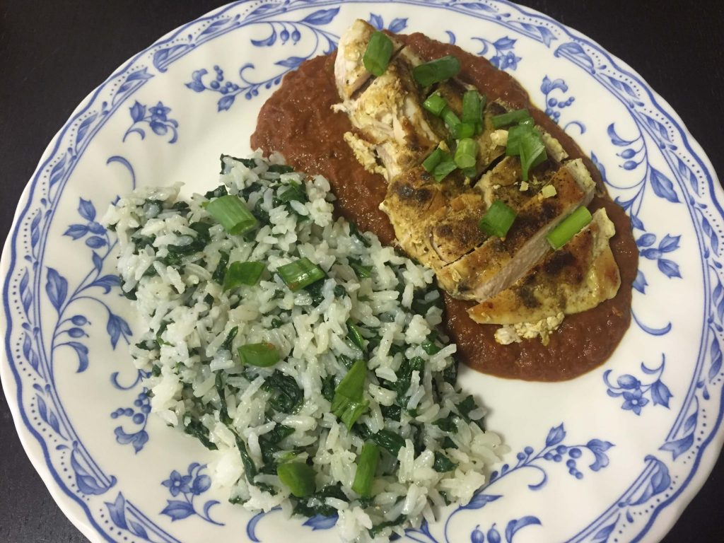 Blue Apron Review: Nepalese Chicken Tarkari with Jasmine Rice