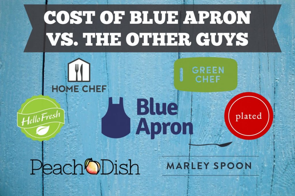 Blue Apron Cost Vs Other Meal Delivery Services