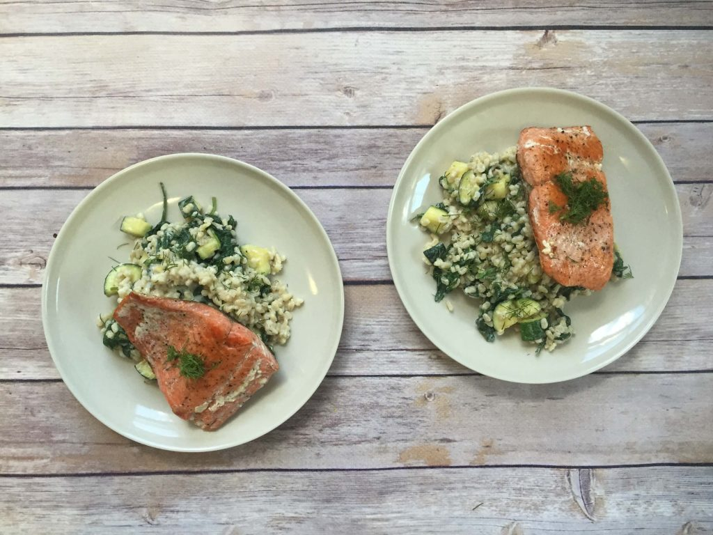 Blue apron zucchini rice