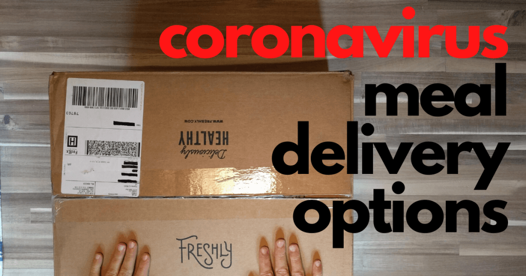 covid-19 Meal Delivery Services
