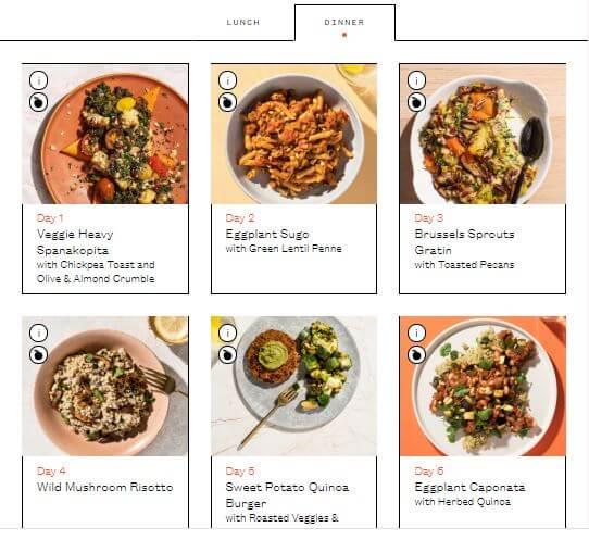 plantable-dinner-menu